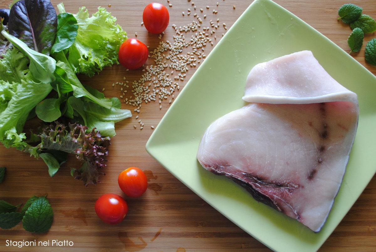 Ingredienti insalata di pesce spada