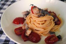 Spaghetti sgombro e pomodorini