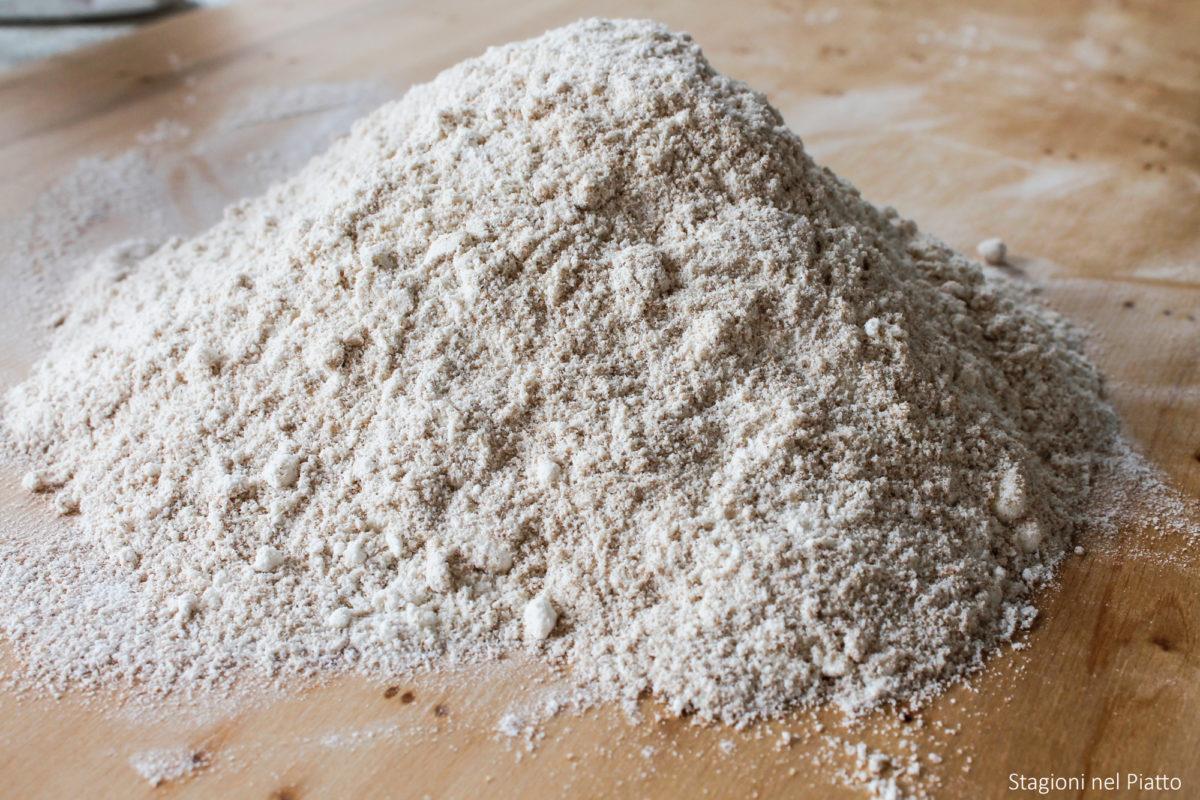 ingredienti schiacciatine al farro