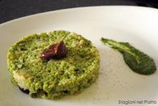 Cous cous al broccolo romanesco e mandorle