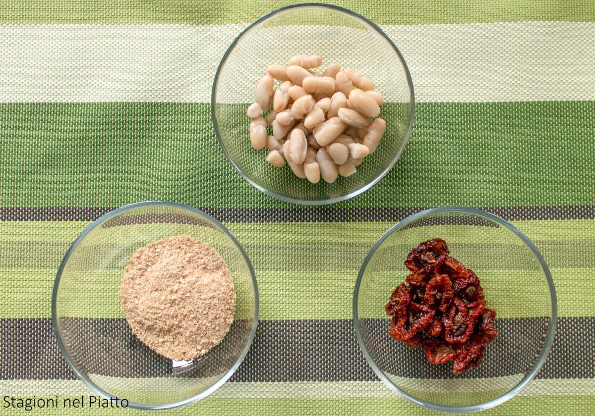 ingredienti polpette di cannellini