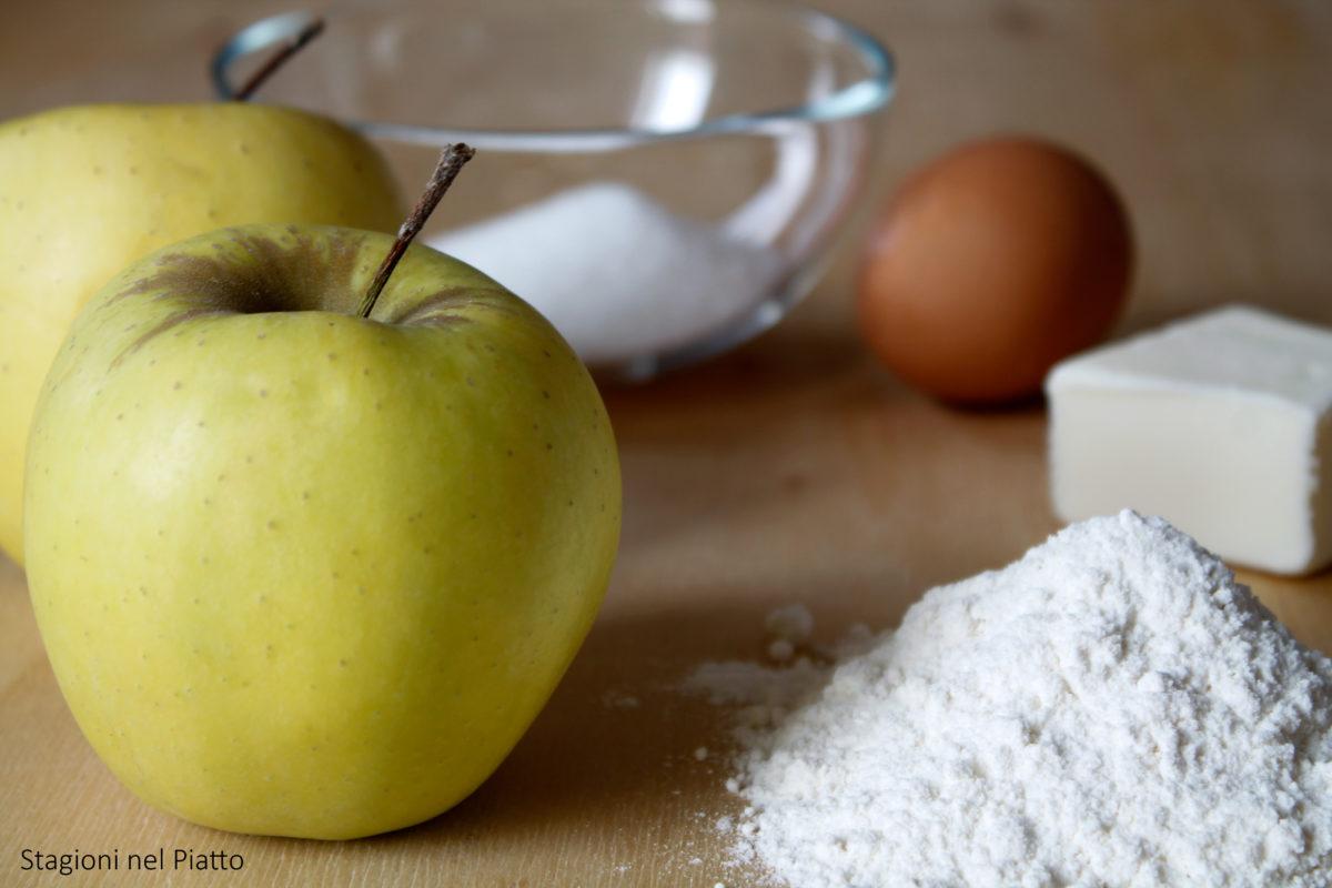 ingredienti torta di mele rustica