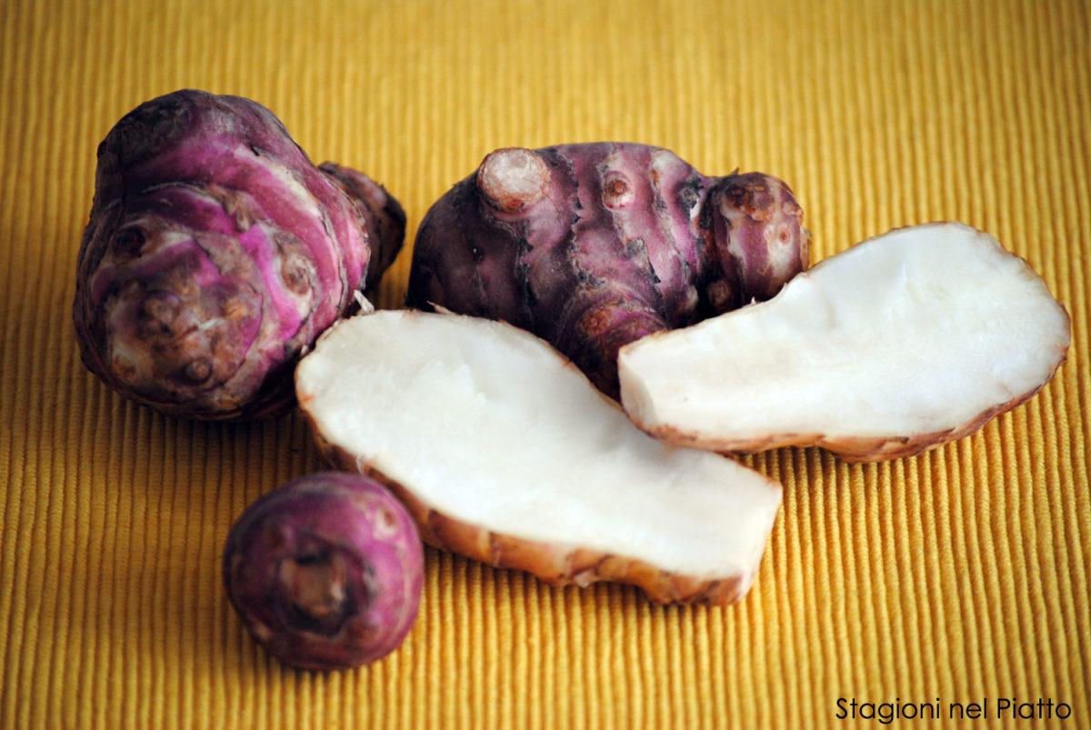 Topinambur aspetti nutritivi