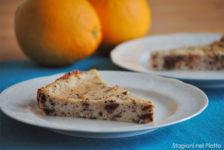Torta stracciatelladi di ricotta e arancia
