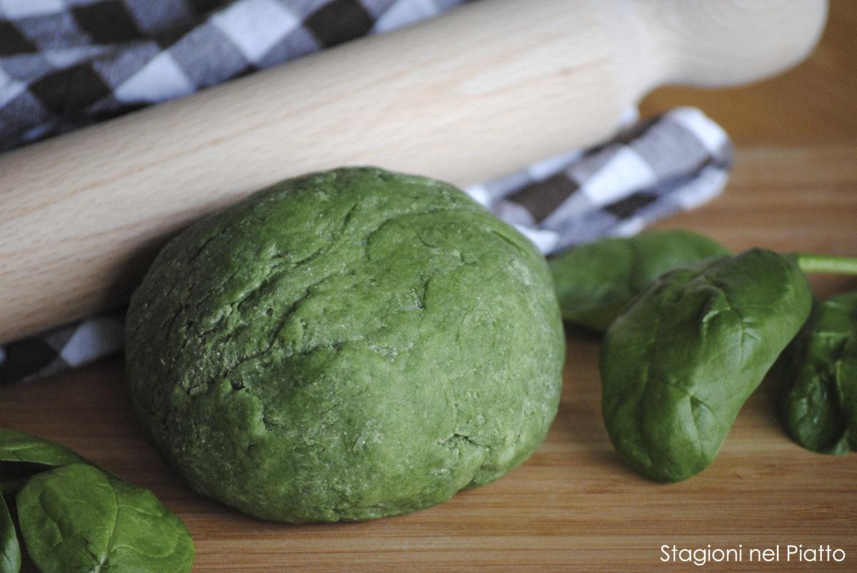 Ricetta pasta fresca verde spinaci
