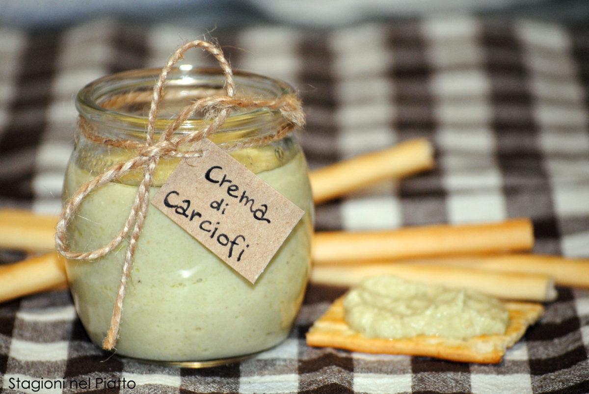 Crema di carciofi e anacardi