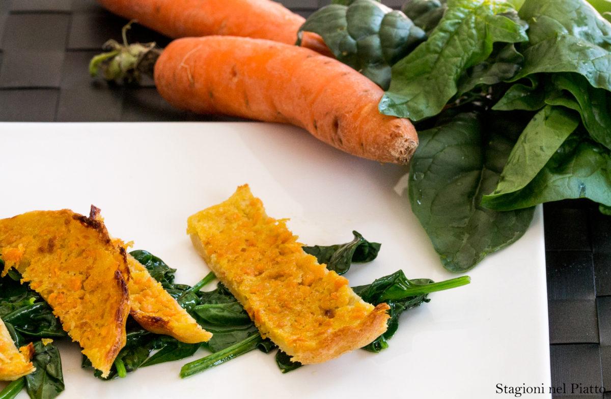 farinata alle carote