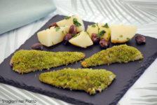 Filetti di gallinella gratinati alle erbe