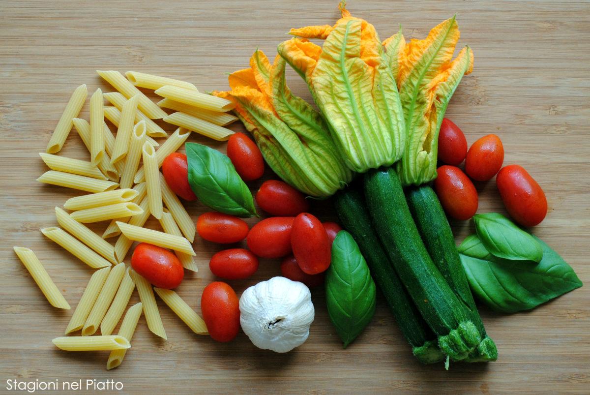 ingredienti pasta alla crudaiola