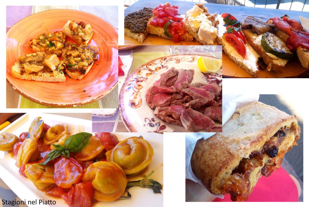 Piatti da provare in Toscana e Umbria
