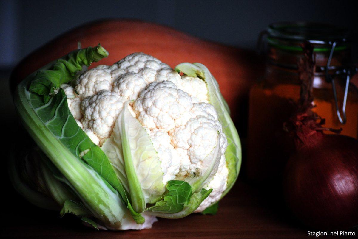 Ingredienti crema di cavolfiore e zucca alla curcuma