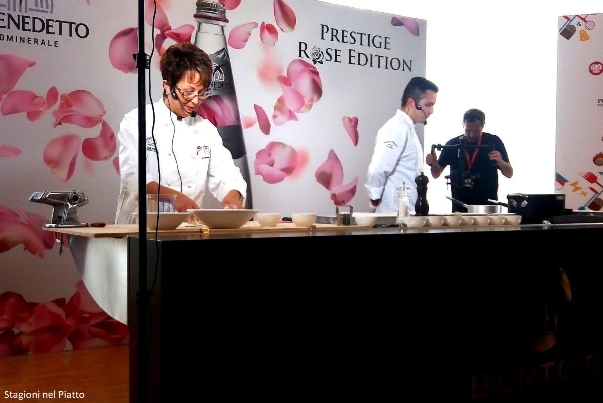 Milano Golosa show cooking casoncelli Trattoria Visconti