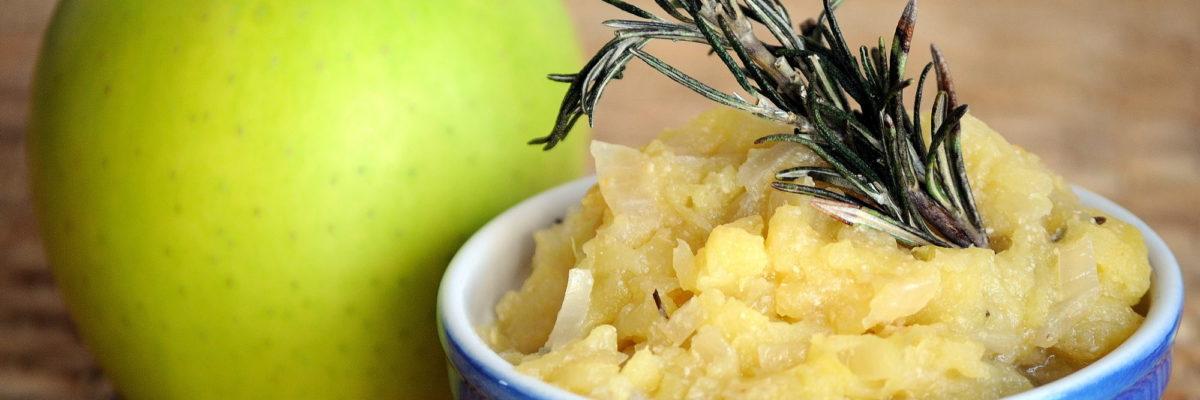 Chutney di mele, zenzero e senape