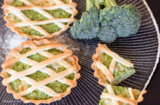 Crostatine ai broccoli