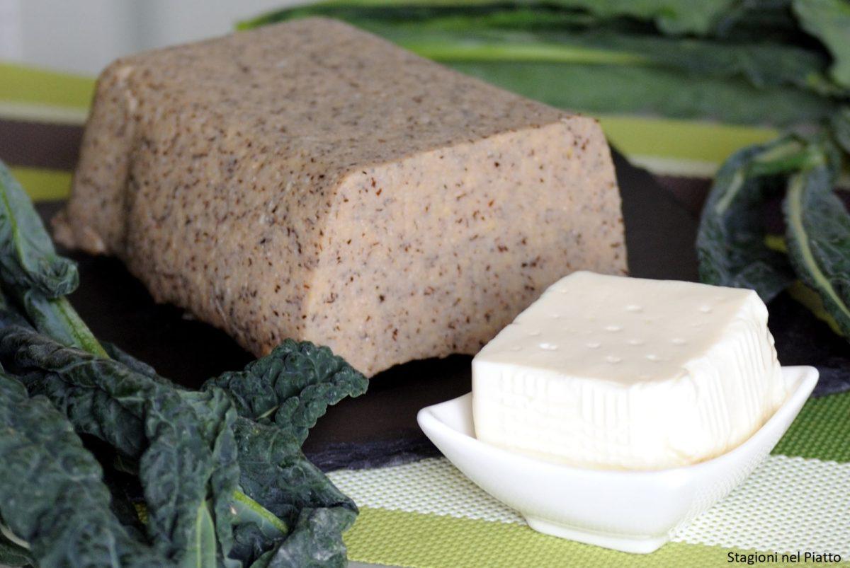 Ingredienti millefoglie di polenta con cavolo nero e crescenza