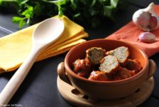 Polpette di vitello e spinaci