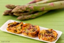 Farinata di ceci con asparagi