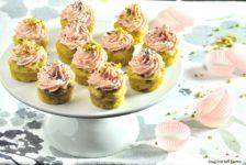 Cupcake salati piselli e prosciutto