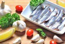 Sardine stagioni nel piatto