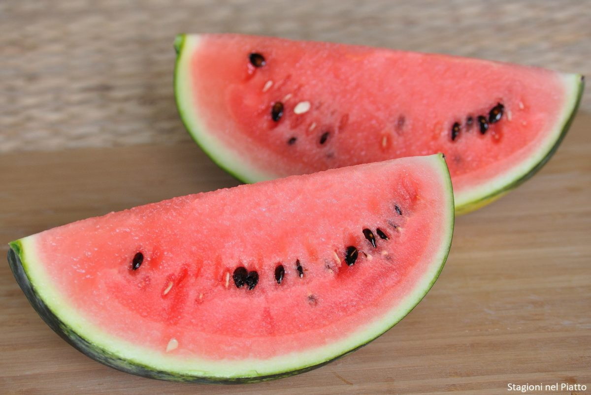 Principi nutritivi dell'anguria