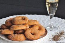 Taralli dolci al Moscato d'Asti e anice