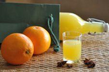 Liquore all'arancia e anice stellato