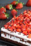 Semifreddo alle fragole e cioccolato