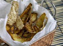 bucce patate fritte stagioni nel piatto