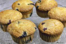 muffin ai mirtilli stagioni nel piatto