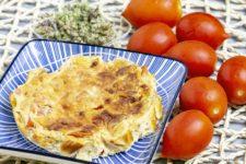 tortino di robiola e pomodori stagioni nelpiatto