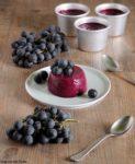 budino di uva fragola