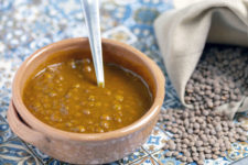 Zuppa di lenticchie al curry