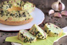 Ciambella salata con broccoli e prosciutto