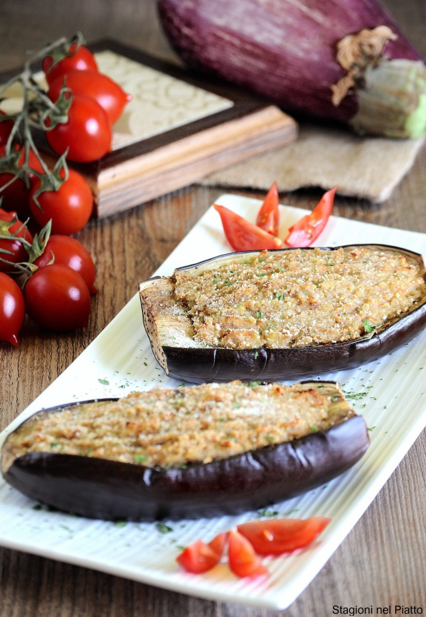 melanzane ripiene al forno con prosciutto