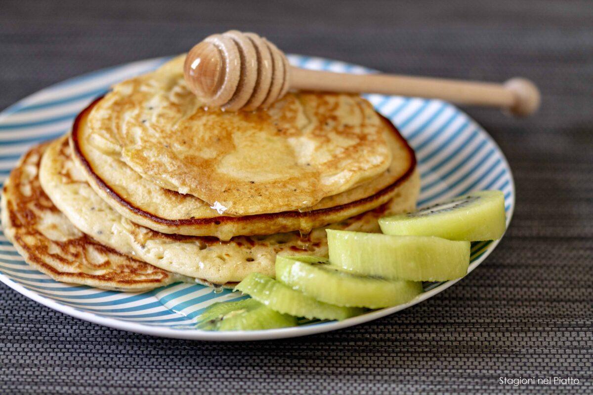 pancake al kiwi