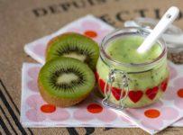 Smoothie al kiwi stagioni nel piatto