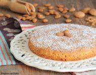 torta di mandorle e amaretti senza farina