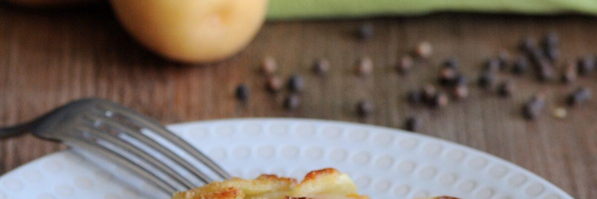 Sformato di patate, zucca e cavolo nero gratinato