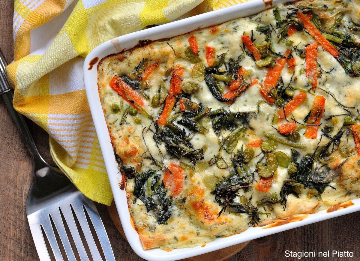 lasagne alle verdure primaverili