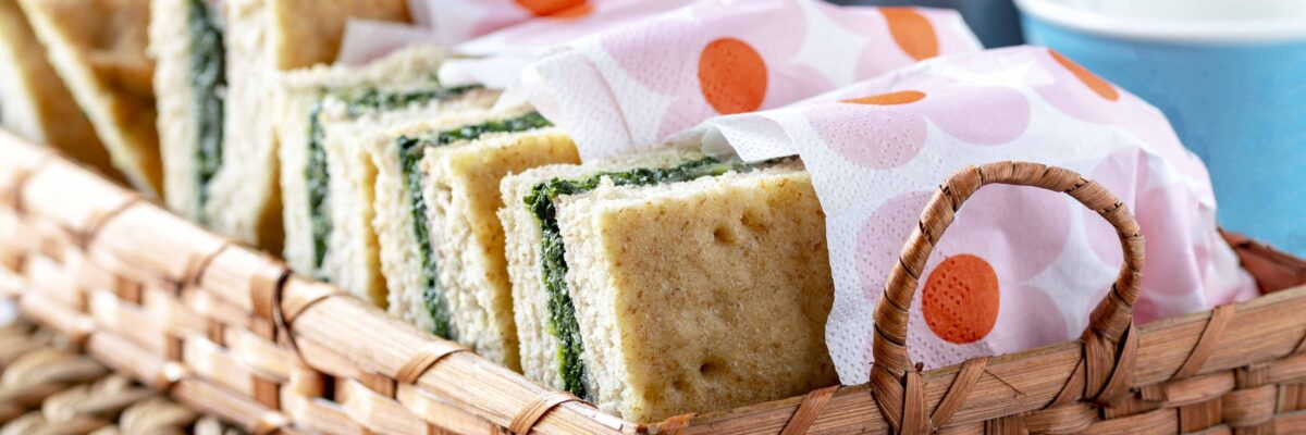 Focaccia integrale ripiena di spinaci e mozzarella